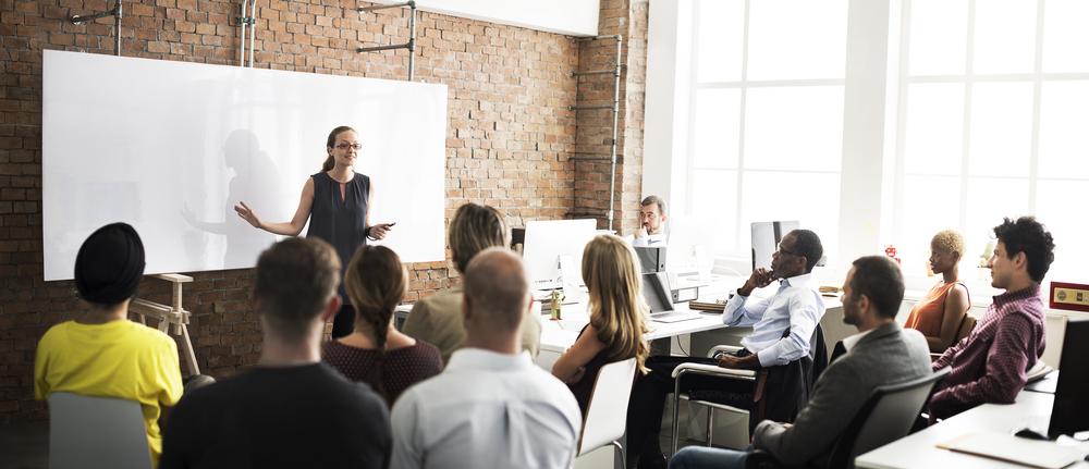 O treinamento motivacional é uma parte muito importante das empresas