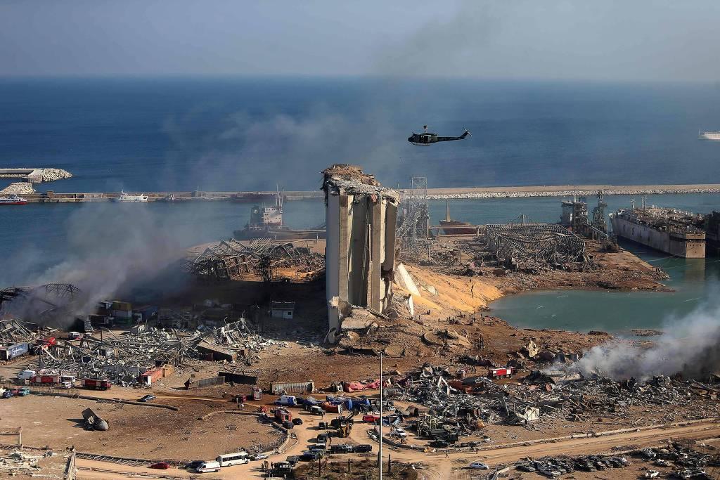 Rio presta ajuda humanitária a Beirute