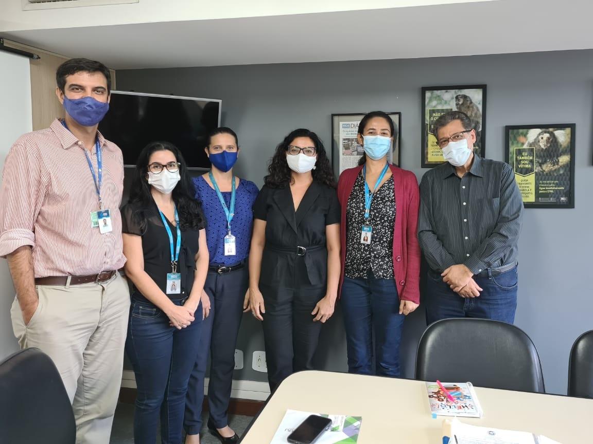 IVISA e Ascoferj se reúnem para falar da vacinação no RJ