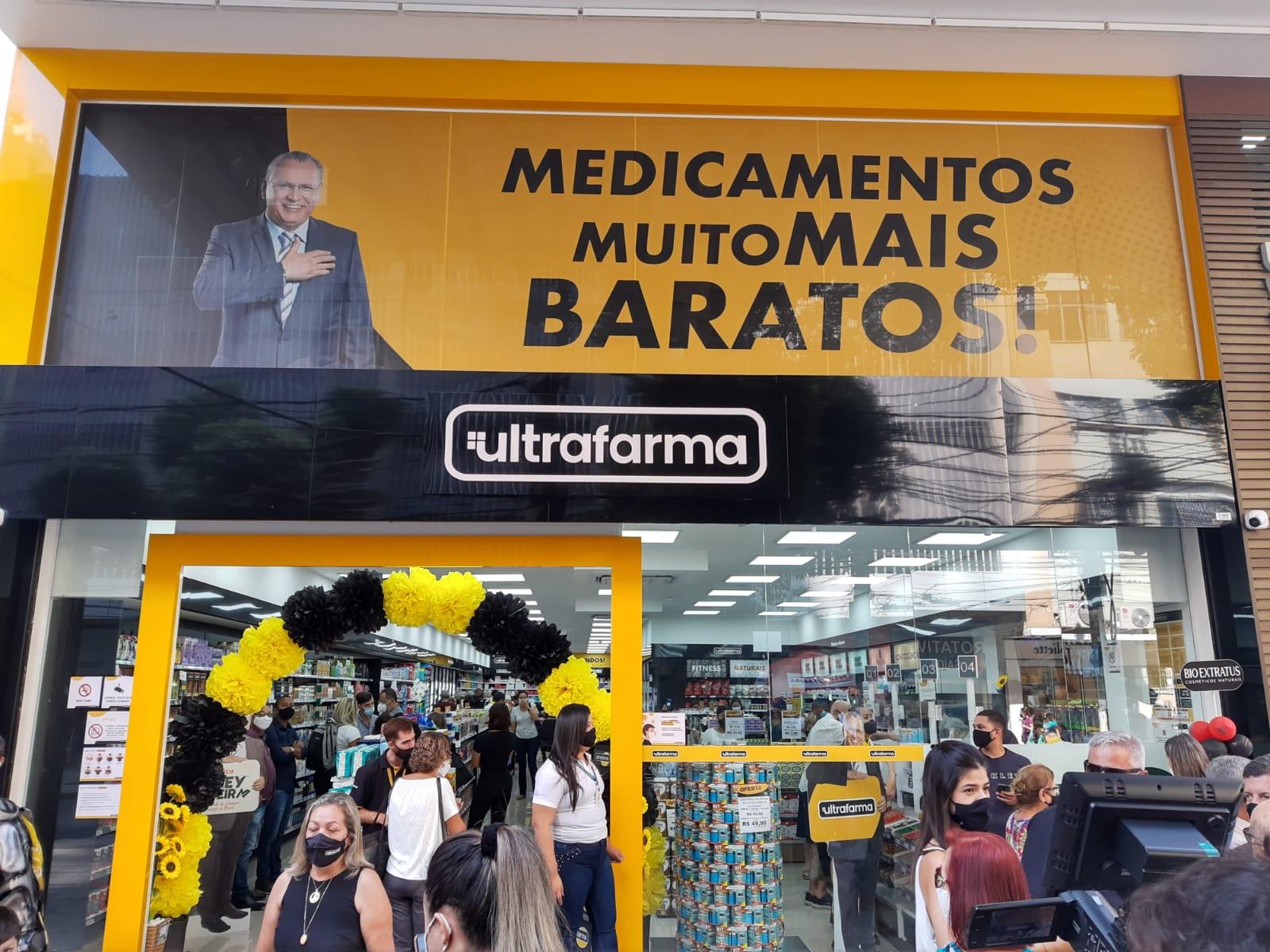 Inauguração da Ultrafarma em Niterói