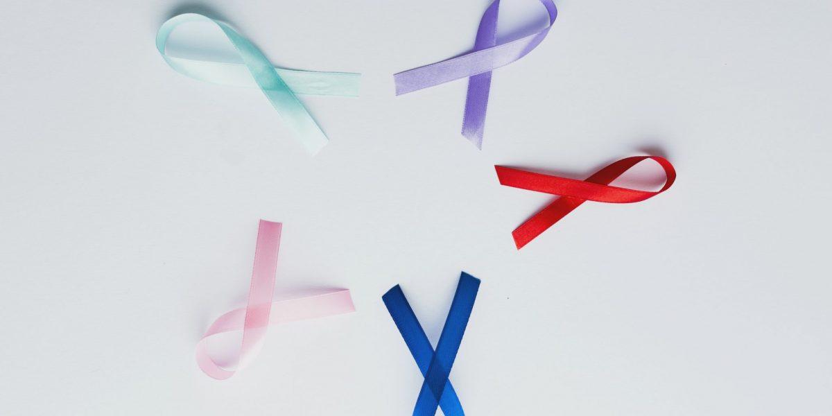 Símbolos dos diversos tipos de câncer