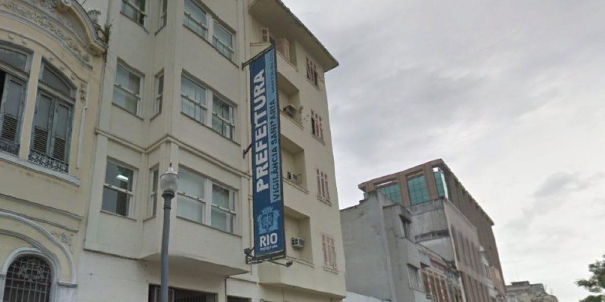 Entrada da Vigilância Sanitária no Rio de Janeiro, que realiza a fiscalização de farmácias de manipulação